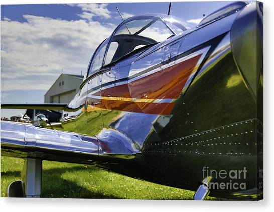 Air Show 6 Canvas Print by Darcy Evans