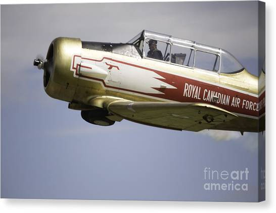 Air Show 7 Canvas Print by Darcy Evans