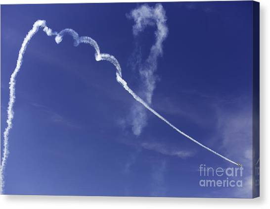 Air Show 9 Canvas Print by Darcy Evans