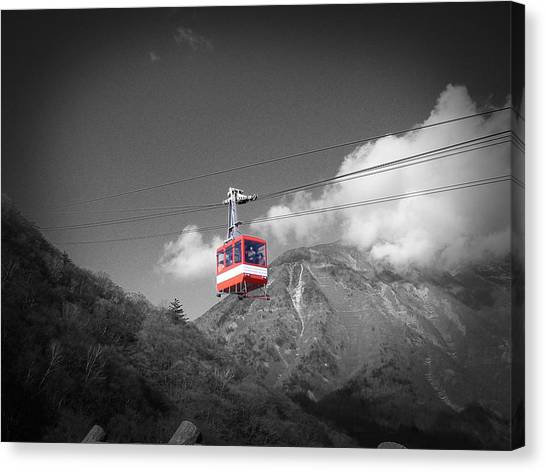 Monks Canvas Print - Air Trolley by Naxart Studio