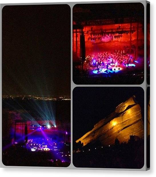 Red Rock Canvas Print - Airborne Toxic Event - Devotchka - Redrocks by S Teske