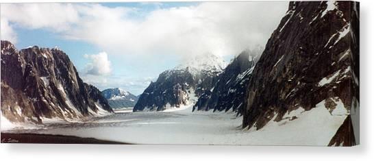 Alaska Glacier Canvas Print