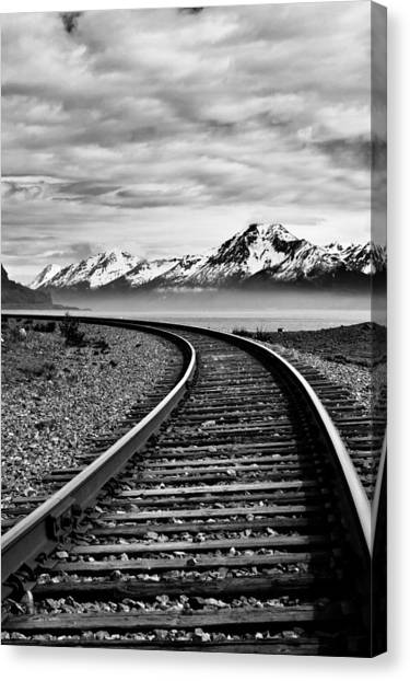 Alaska Railroad Canvas Print