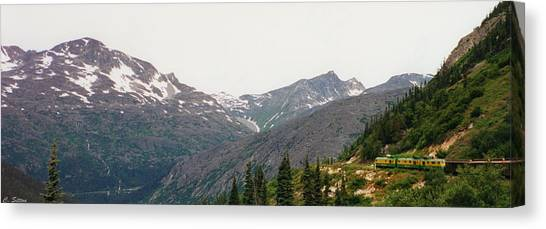 Alaskan Train Canvas Print