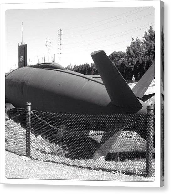 Submarine Canvas Print - #albacore #submarine #military # Igs by Danielle Mcneil