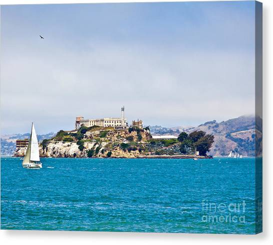 Alcatraz - San Francisco Canvas Print