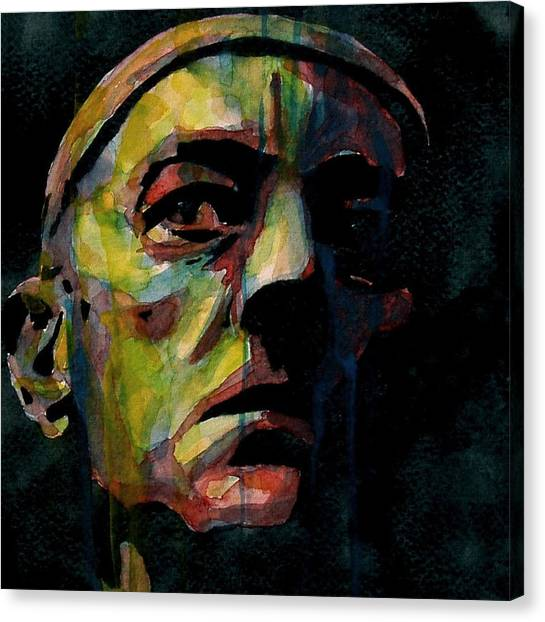 British Canvas Print - Alec Guinness by Paul Lovering
