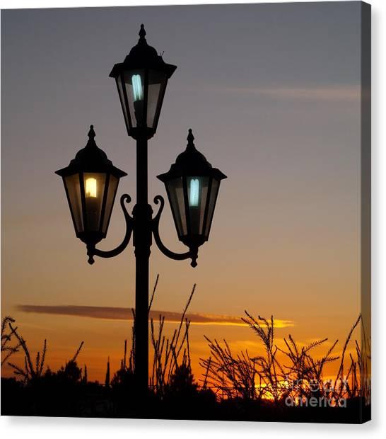 Algarve Lamps Canvas Print