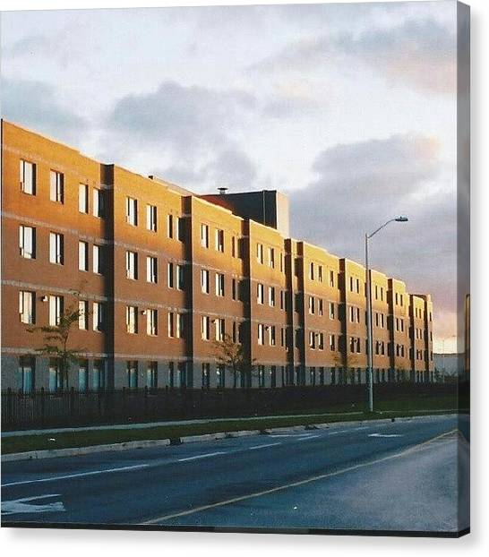 Ontario Canvas Print - Algonquin College Residence. (took This by Jess Gowan