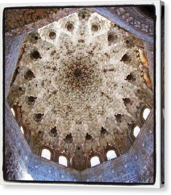 Islamic Art Canvas Print - Alhambra by J R