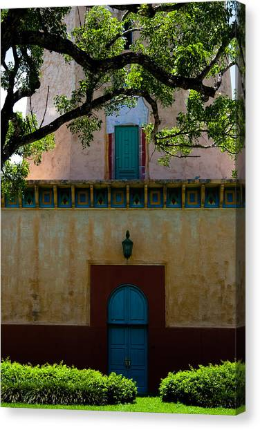 Alhambra Water Tower Doors Canvas Print