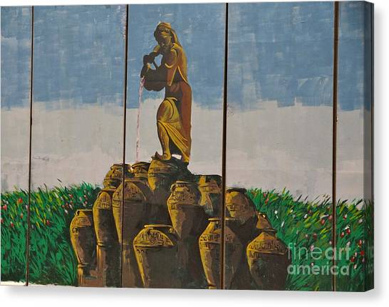 Ali Baba And The Forty Theives Canvas Print by Unknown - Iraqi Local National