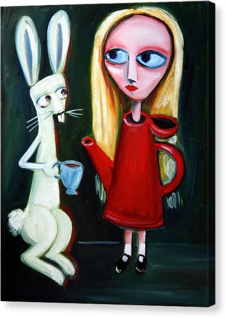 Alice A Tea Pot Canvas Print