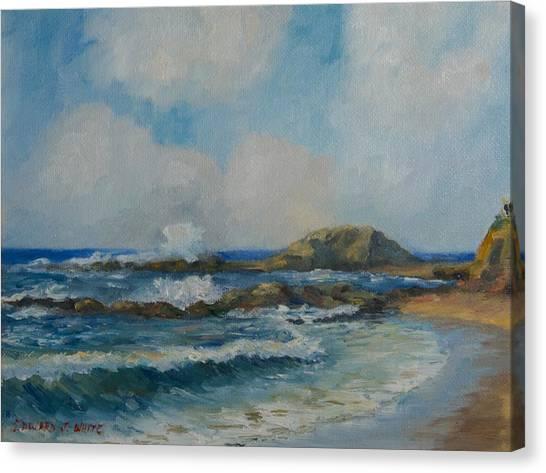 Aliso Beach Canvas Print
