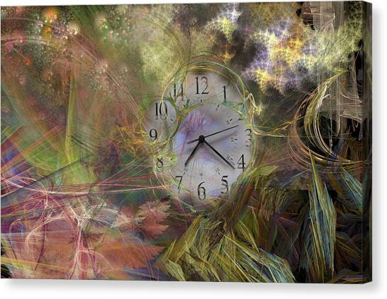 Ticks Canvas Print - All About Time by Betsy Knapp