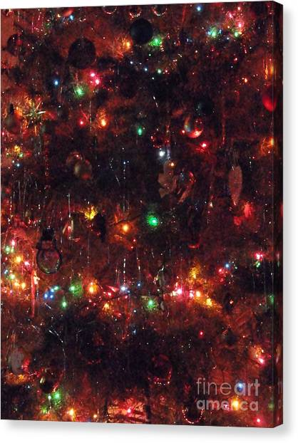 All Lite Up And Decked Out Two Canvas Print by Daniel Henning