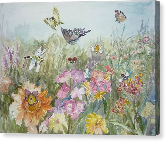 All My Friends Canvas Print by Dorothy Herron