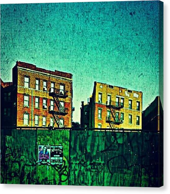 Harlem Canvas Print - All Of Us Are In The Gutter But Some Of by Radiofreebronx Rox