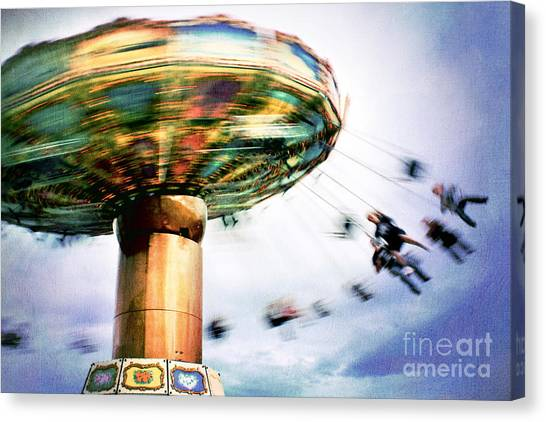 All The Fun Of The Fair Canvas Print by Catherine MacBride
