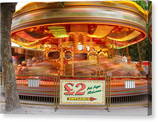 All The Fun Of The Fair Canvas Print by Kevin Bates