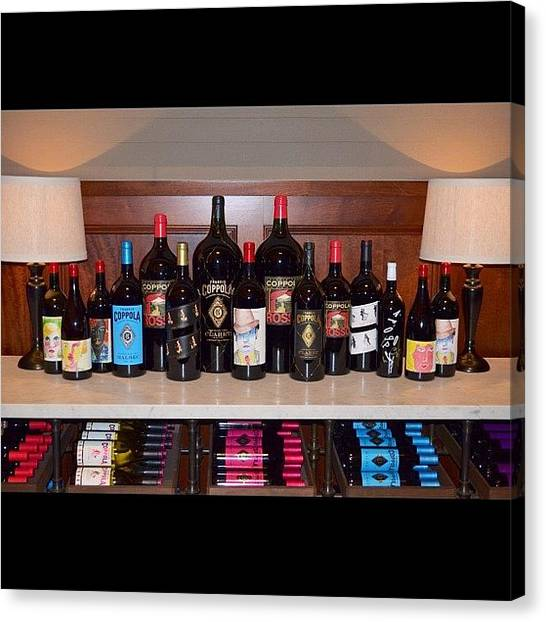Winery Canvas Print - #all_shots #wine #winery by Birgit Zimmerman