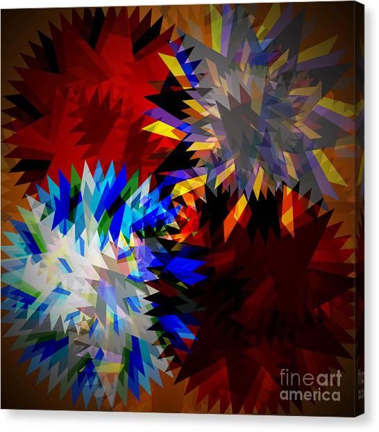 Transmission Canvas Print - Allure Blade by Atiketta Sangasaeng