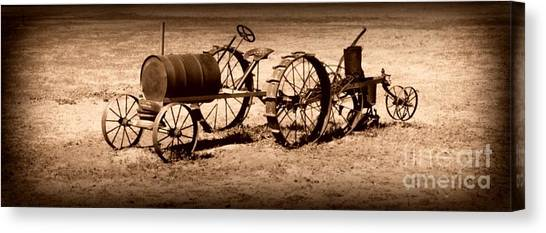 Almost A Tractor Canvas Print