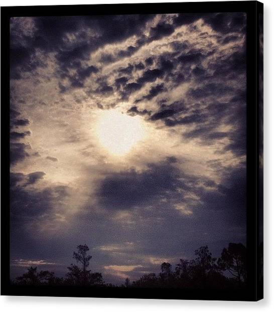 Jupiter Canvas Print - Almost Sunny by Seth Tours