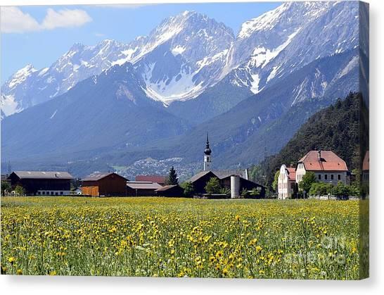 Alpine Mood Canvas Print