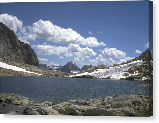 Alpine Tarn Canvas Print