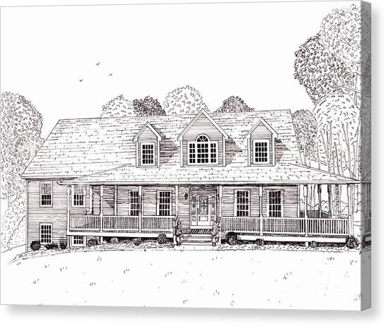 Al's House   Canvas Print by Michelle Welles