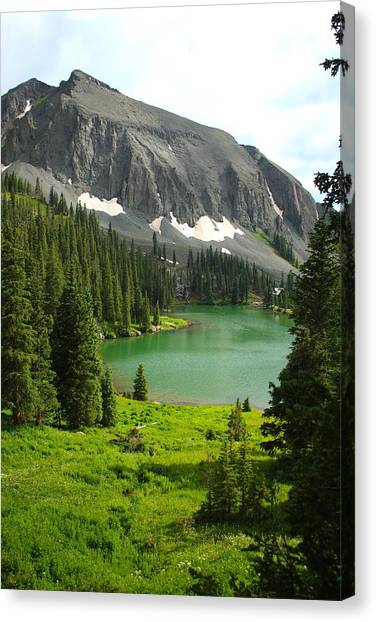 Alta Lake Colorado Canvas Print