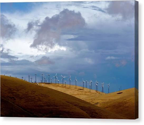 Altamont Pass California Canvas Print