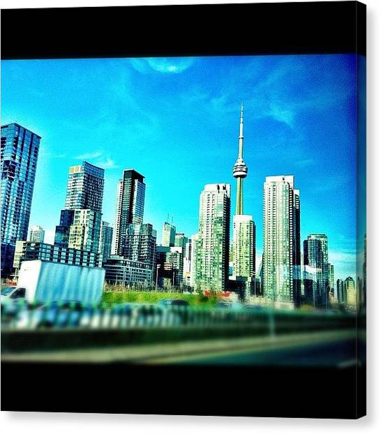 Toronto Skyline Canvas Print - Always Be Home - #toronto #tdot by Liza Mae | Luxavision