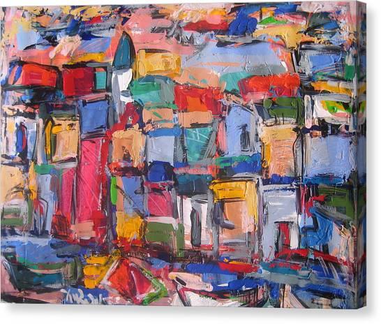 Amalfi 88 Canvas Print