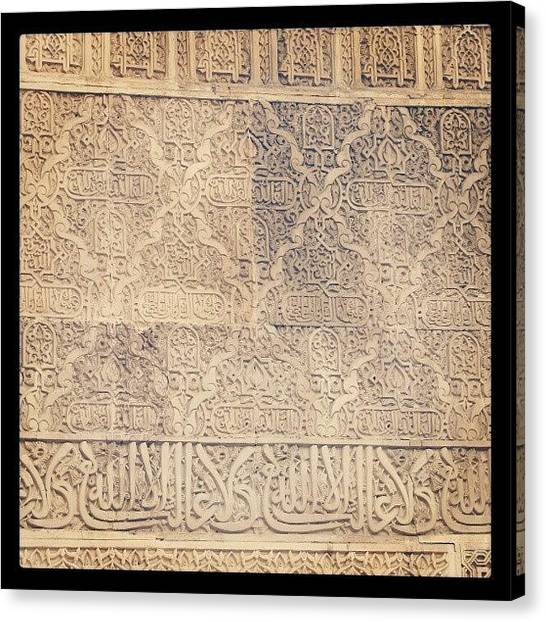 Roman Art Canvas Print - Amazing #old #ancient #tiles #walltiles by Paul Petey