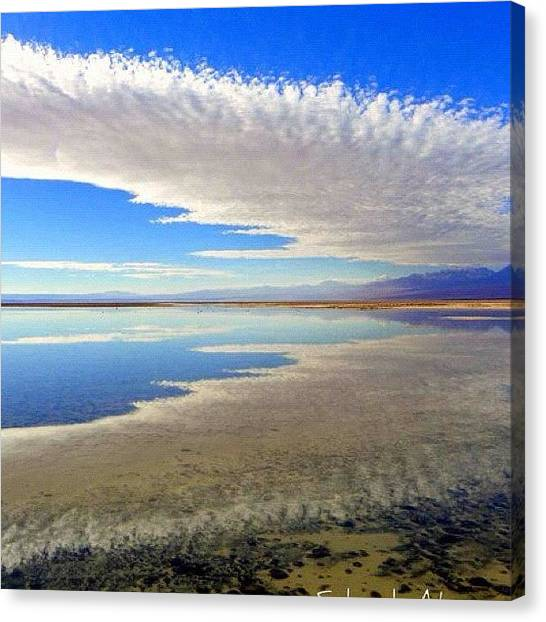 Atacama Desert Canvas Print - Amazing Place To Visit.... You Will by Sandra Lira