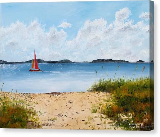 Amelia River Canvas Print