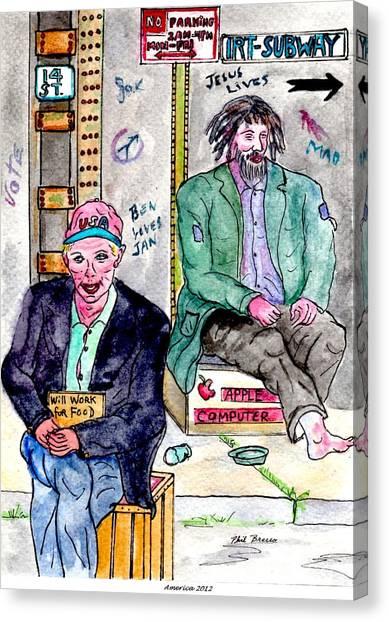 America 2012 Canvas Print