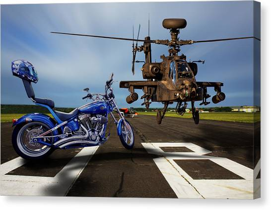 American Choppers 2 Canvas Print