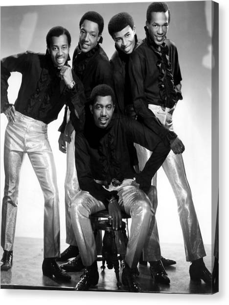 American Motown Group The Temptations Photograph By Everett