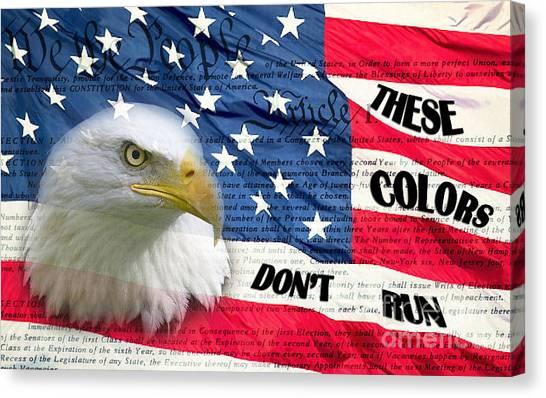 American Pride Canvas Print by Joanne Kocwin
