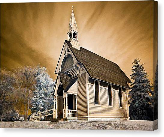 Amityville Chapel Canvas Print