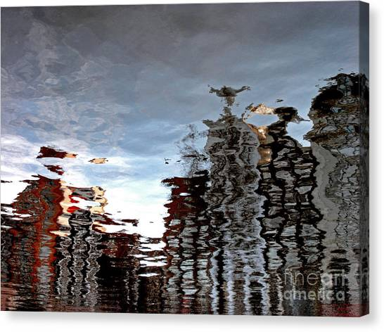 Amsterdam Reflections Canvas Print