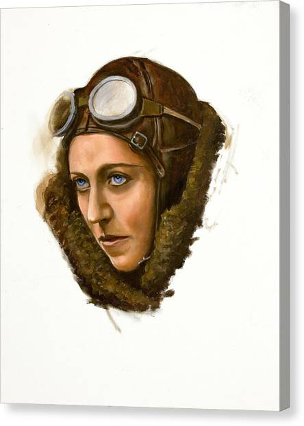 Amy Johnson Canvas Print