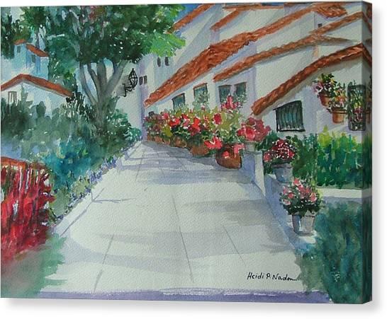 An Andalucian Street Canvas Print