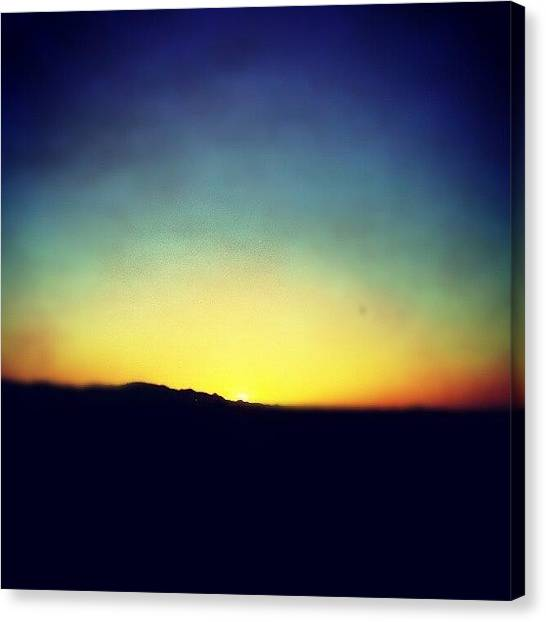 Tattoo Canvas Print - An Arizonian Sunset #sports by Adam Snow