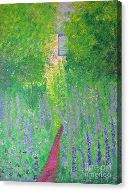 An Artist's Cottage Canvas Print