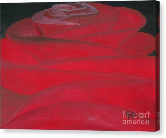An Odd Rose... Canvas Print by Robert Meszaros