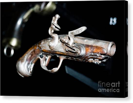 Ancient Pistol Canvas Print